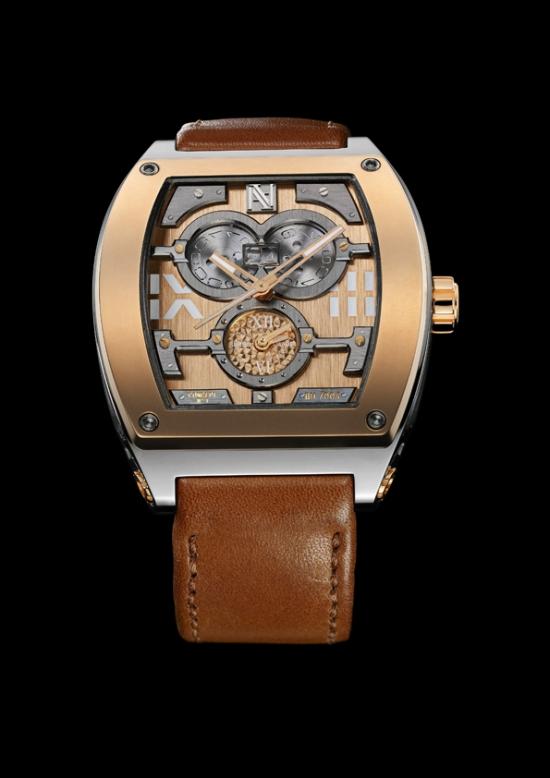 Эдмон Авакан впервые представляет собственную модель мужских часов