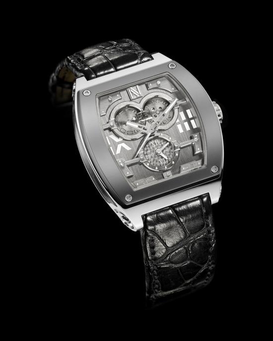 Эдмон Авакян привлекал к разработке и изготовлению новой модели часов только тех мастеров из Швейцарии