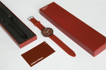Дизайн часов Uniform Wares разработан таким образом, чтобы они оказались долговечными