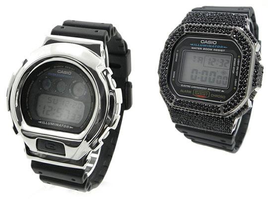 Сменные G-Shock покрытия от Amp Japan