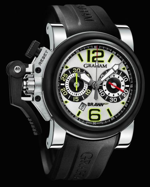 новый автомобильно-часовой союз Brawn GP с британской маркой Graham London