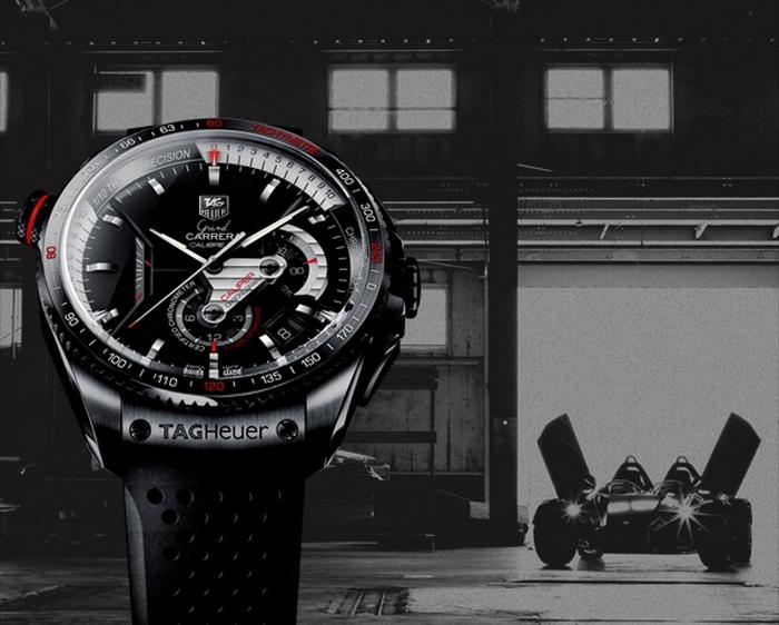 После представления концепт-хронографа на выставке Baselworld коллекция Grand CARRERA бренда Tag Heuer