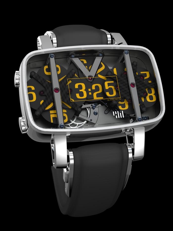 концепт-часы новой компании 4N, созданные Франсуа Квентином Francois Quentin