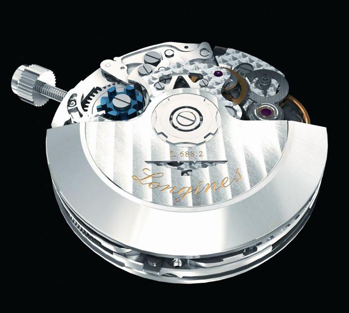 Обе модели оснащены эксклюзивным калибром L688.2 с колонным колесом хронографа, выпущенным в 2009