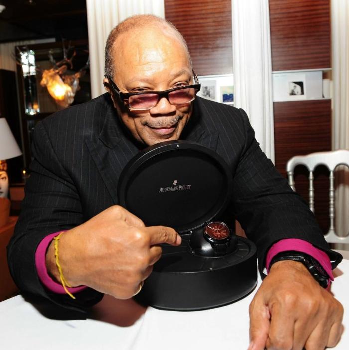 идеально соответствуют образу музыкальной легенды – Квинси Джонсу (Quincy Jones)