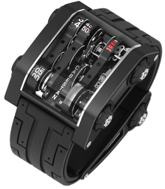 Дизайн часов Cabestan Nostromo сделал Жан Франсуа Рушоннэ Jean-Francois Ruchonnet