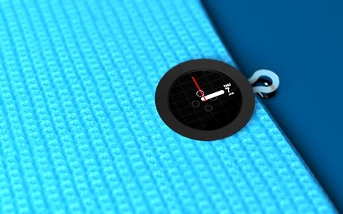 Часы-зажим можно прикрепить к любой одежде