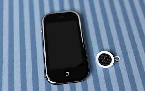 Дисплей работает от солнечной батарейки