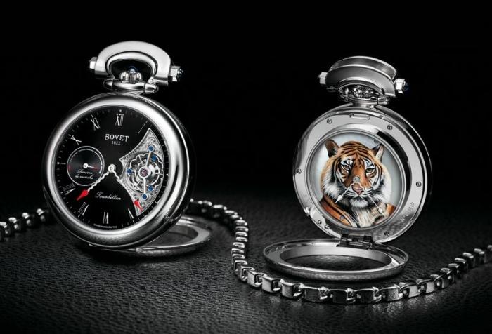Карманные часы Bovet Fleurier Amadeo Tiger