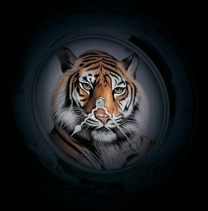 В ознаменование года тигра часовой бренд Bovet выпустил часы Fleurier Amadeo Tiger