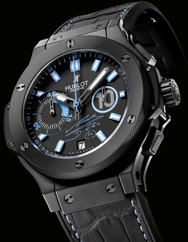 Компания Hublot представила новые часы Hublot Big Bang Maradona