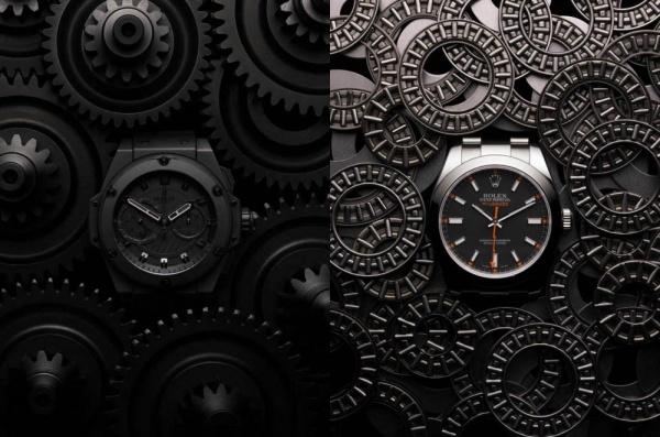 Часы в журнале Intersection Magazine
