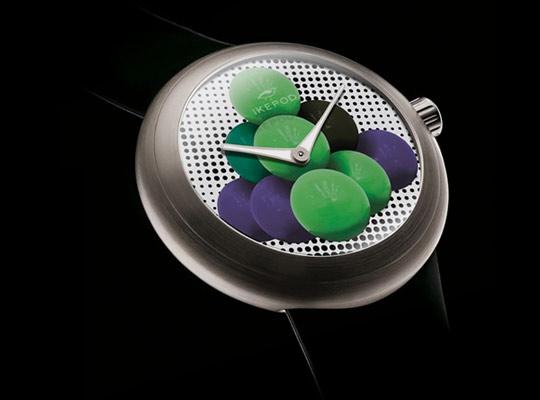 Часы Cannonballs от Джеффа Кунса (Jeff Koons) и Ikepod
