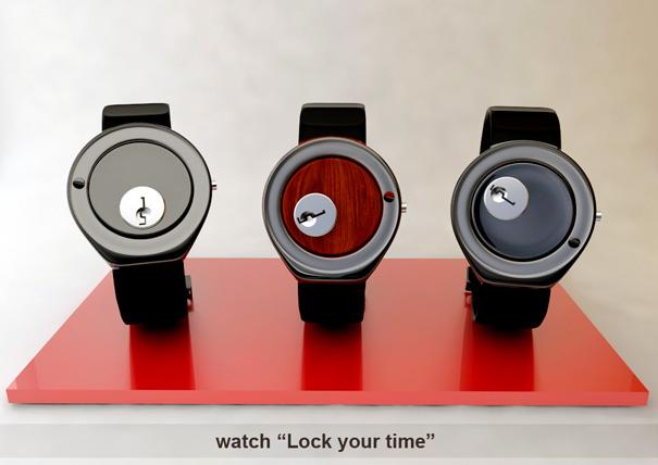 дизайнерская модель понравится любителям необычных концептов часов