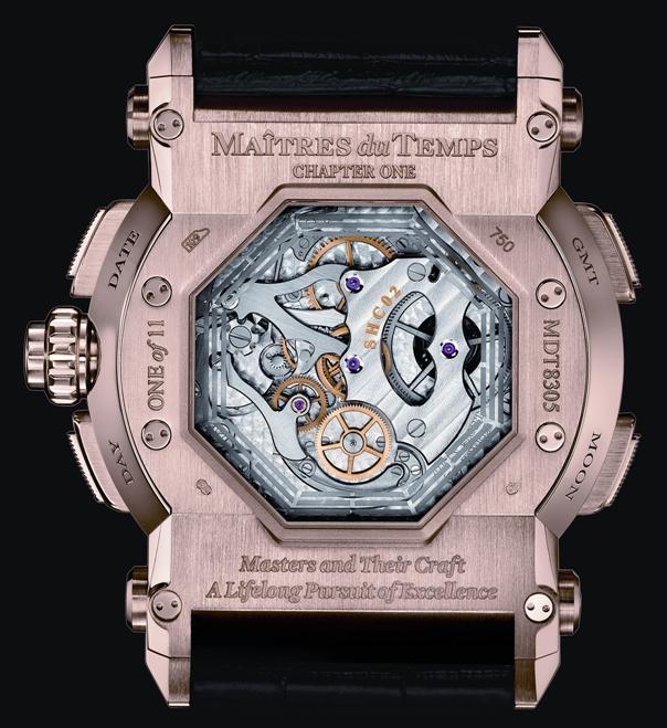 часы - первая в мире комбинация сложных механизмов, собранная из 558 компонентов