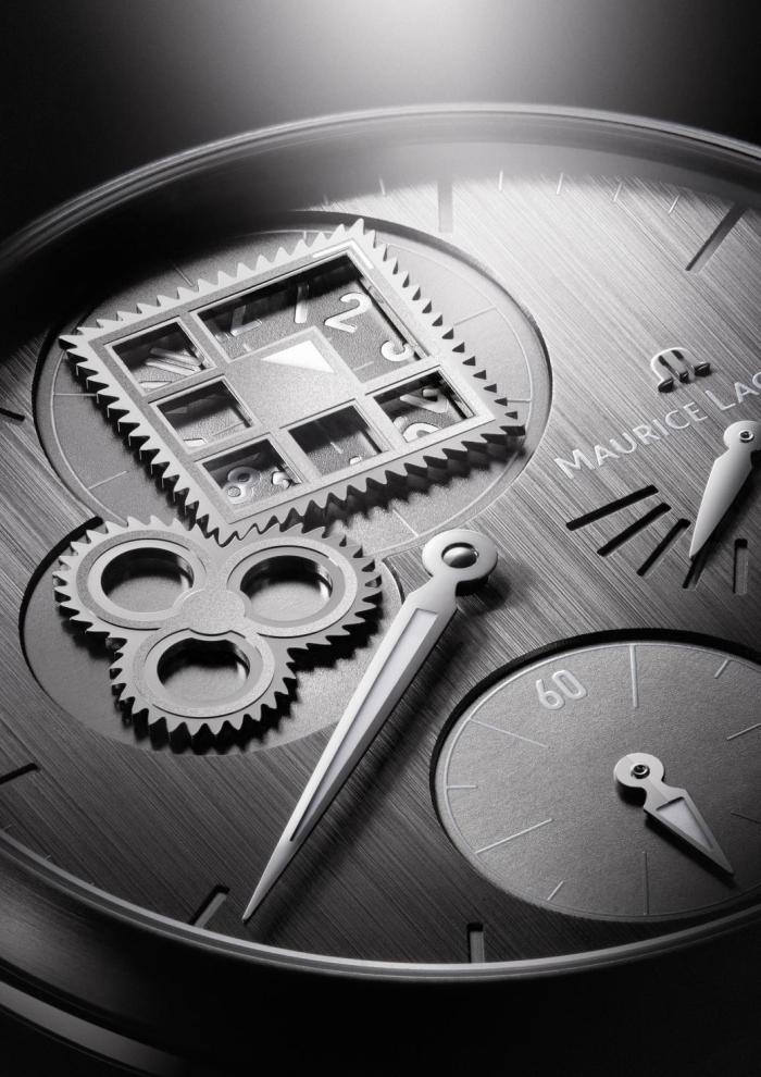 Указателем часов является небольшой уголок, покрытый составом Superluminova
