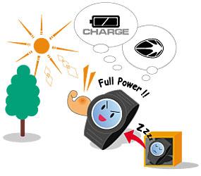 Casio помогают бережнее относится к окружающей среде благодаря эко-дружелюбным особенностям, включая солнечную батарею и упаковку из вторичного сырья