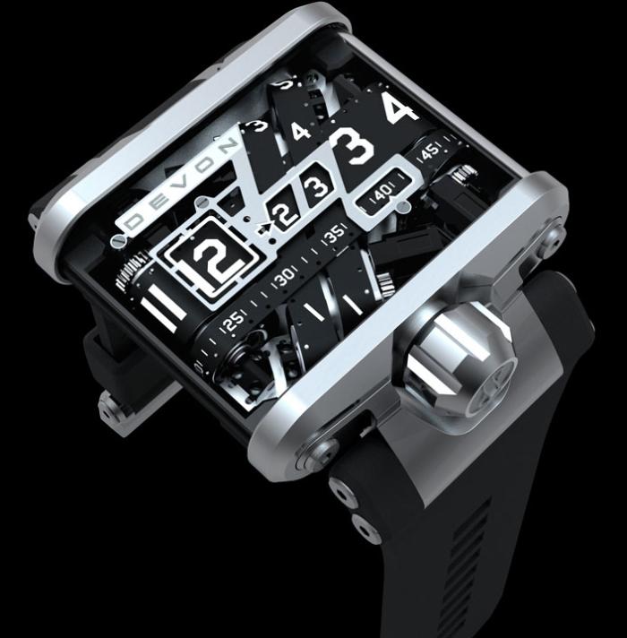 Уникальные часы Devon Tread 1