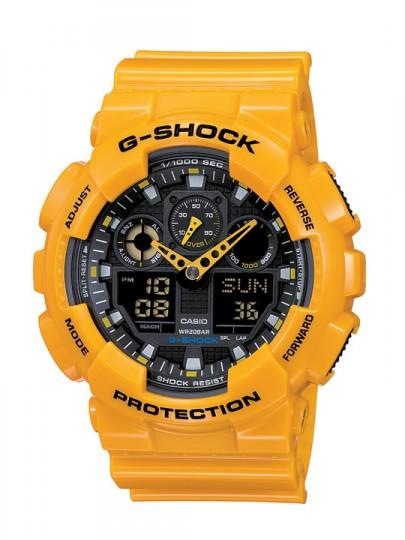 G-Shock Big Case Combi желтого цвета