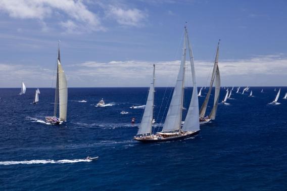 шестая международная регата Panerai Classic Yachts Challenge