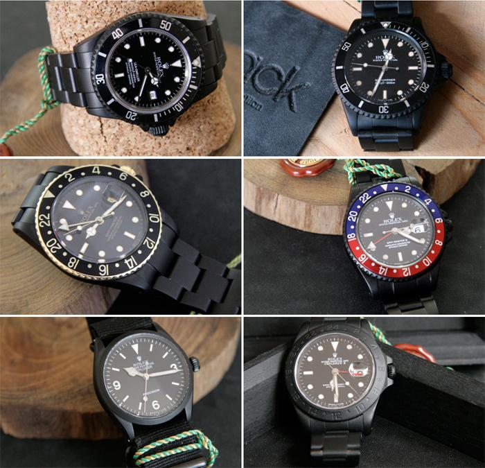 Винтажная серия Rolex Black Limited Edition