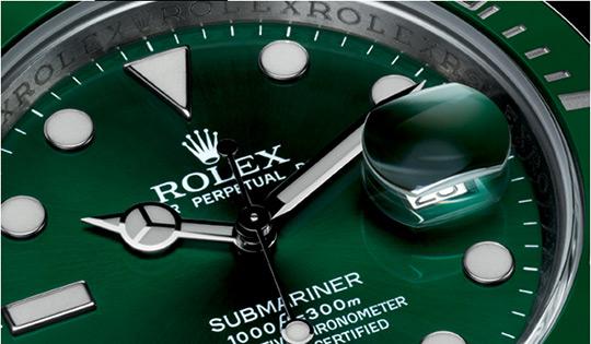 Rolex Submariner Date в зеленом исполнении