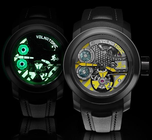часы Volnatomic Liquid Tourbillon