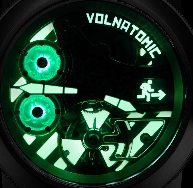 Механические часы с турбийоном, ручной подзавод, запас хода 72 часа, черный титановый PVD корпус
