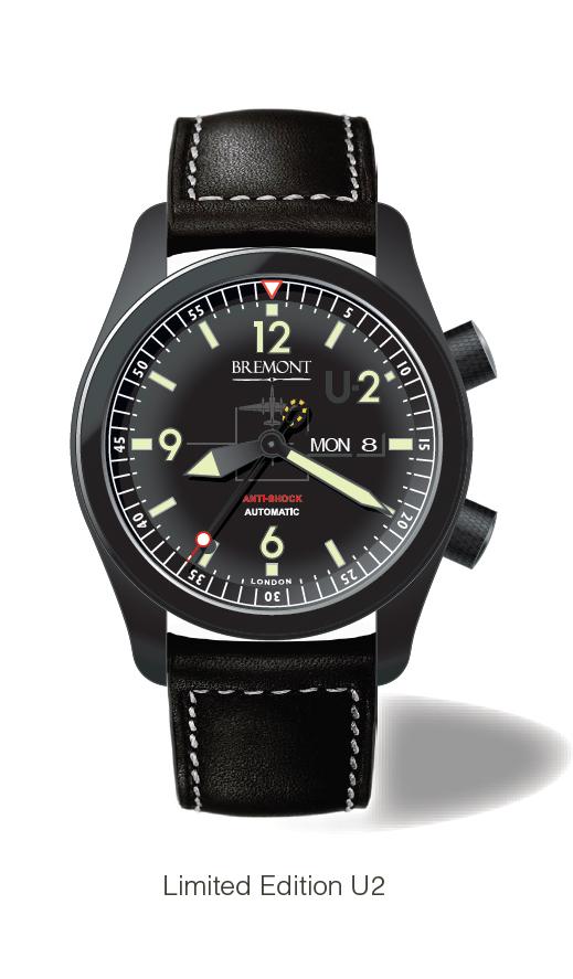 британский бренд Bremont создал часы специально для пилотов самолета-шпиона U2