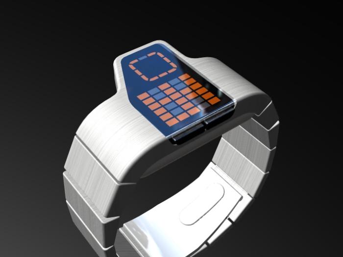 асимметричные часы Gridlock