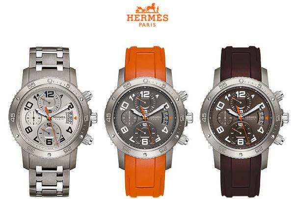 Hermes выпустил новые часы Clipper Automatic Chronograph