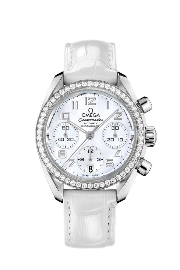 Каждая модель Speedmaster Ladies Chronograph Chronometer индивидуальна