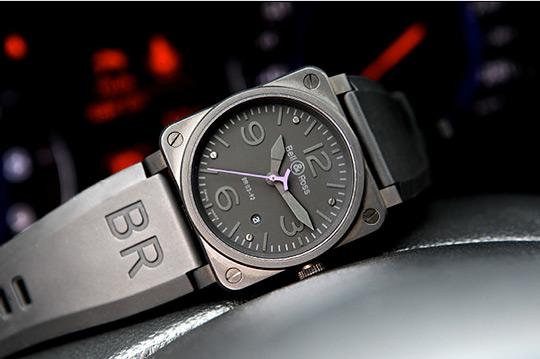 Bell & Ross и Infiniti выпустили ограниченную серию часов BR03-92 Instrument Phantom