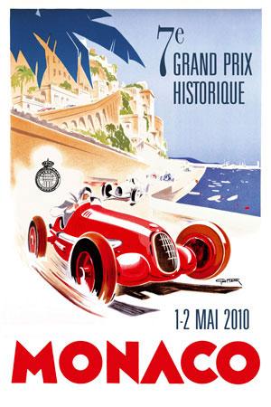 7-ой гонка исторического Гран-при в Монако (Grand Prix de Monaco Historique)