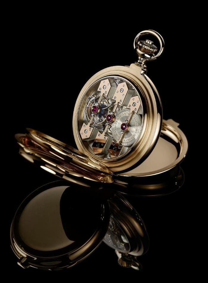 реинкарнация модели часов, которая получила золотую медаль на парижской всемирной выставке 1889 года