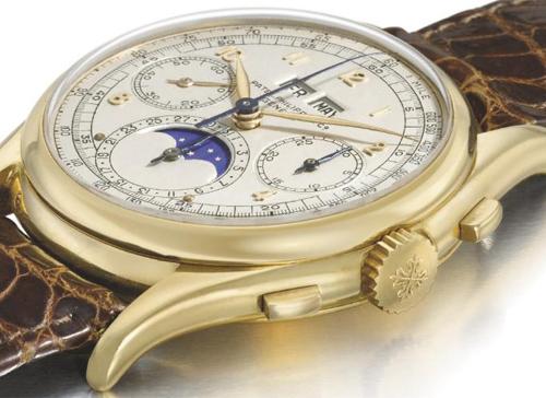 часы Patek Philippe из желтого золота были проданы за 6,259,000 швейцарских франков