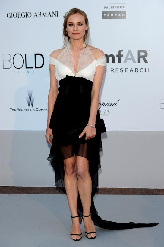 Актриса Диане Крюгер (Diane Kruger) – часы Joaillerie 101 Feuille