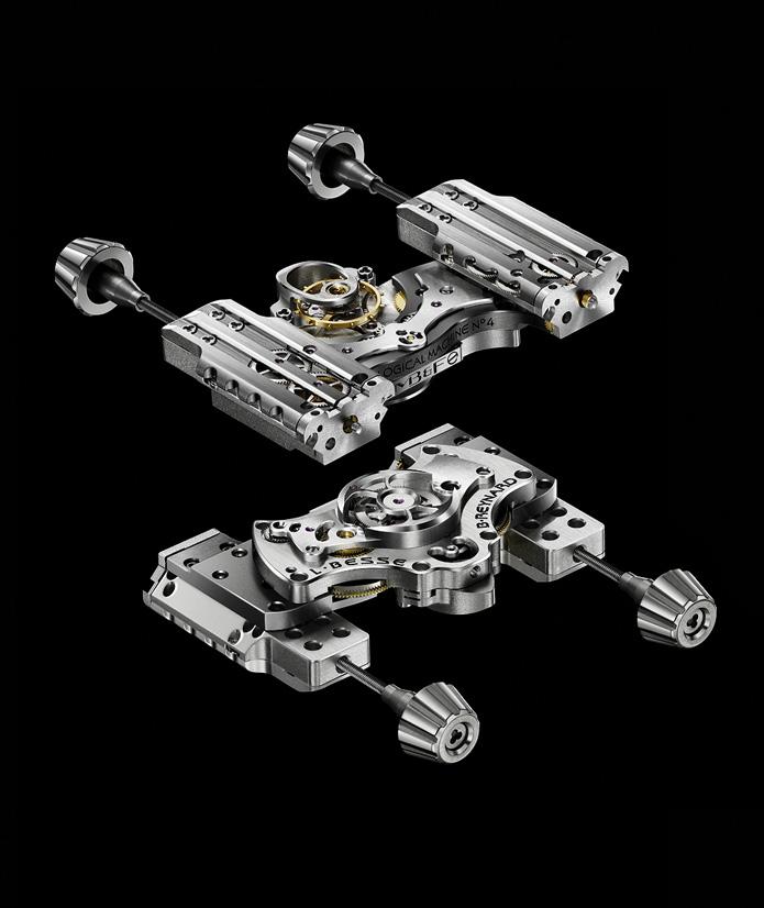 захватывающая панорама микромеханических деталей с безупречной отделкой