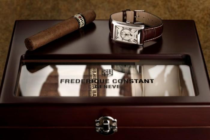 коллаборация культового часового бренда Frederique Constant и одного из ведущих брендов в мире на сигарном рынке Cohiba