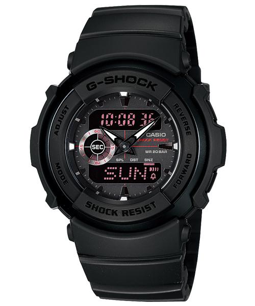 Августовский релиз G-Shock 2010