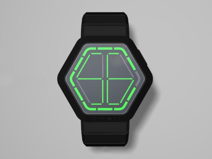 японские часы NightVision