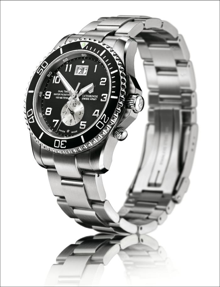 часы хронограф и часы с индикатором второго часового пояса