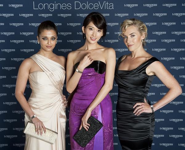 Kate Winslet, Aishwarya Rai Bachchan, Chi Ling Lin Longines DolceVita
