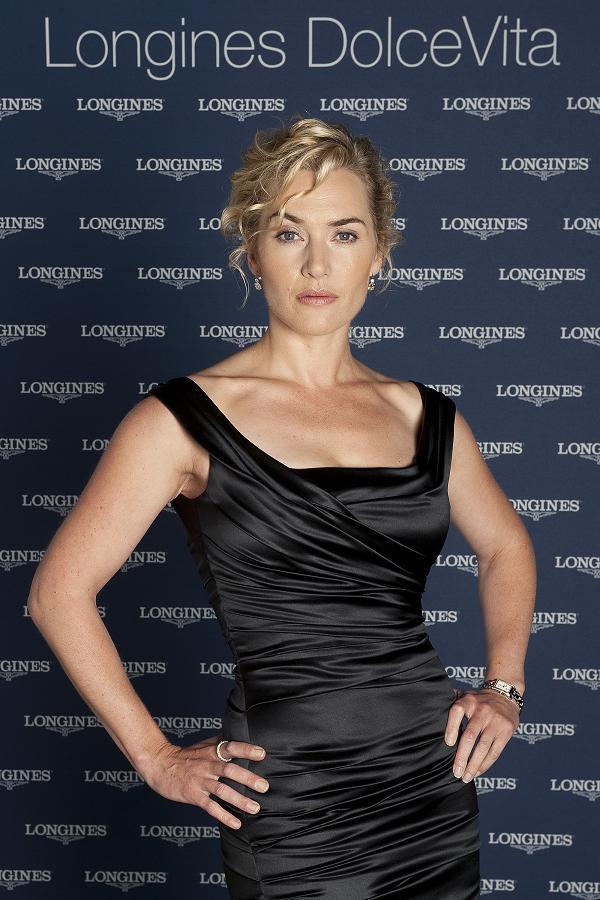 гости приветствовали Кейт Уинслет в качестве новой посланницы элегантного бренда