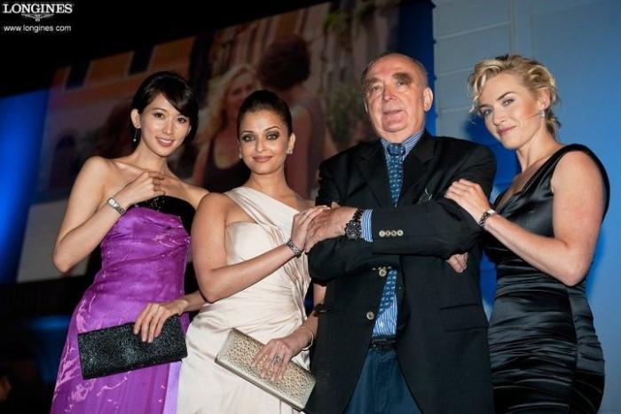 Кейт Уинслет (Kate Winslet) вместе со звездой Болливуда Айшварией Рай (Aishwarya Rai) и азиатской киноактрисой Чи-Линг Лин (Chi-ling Lin)