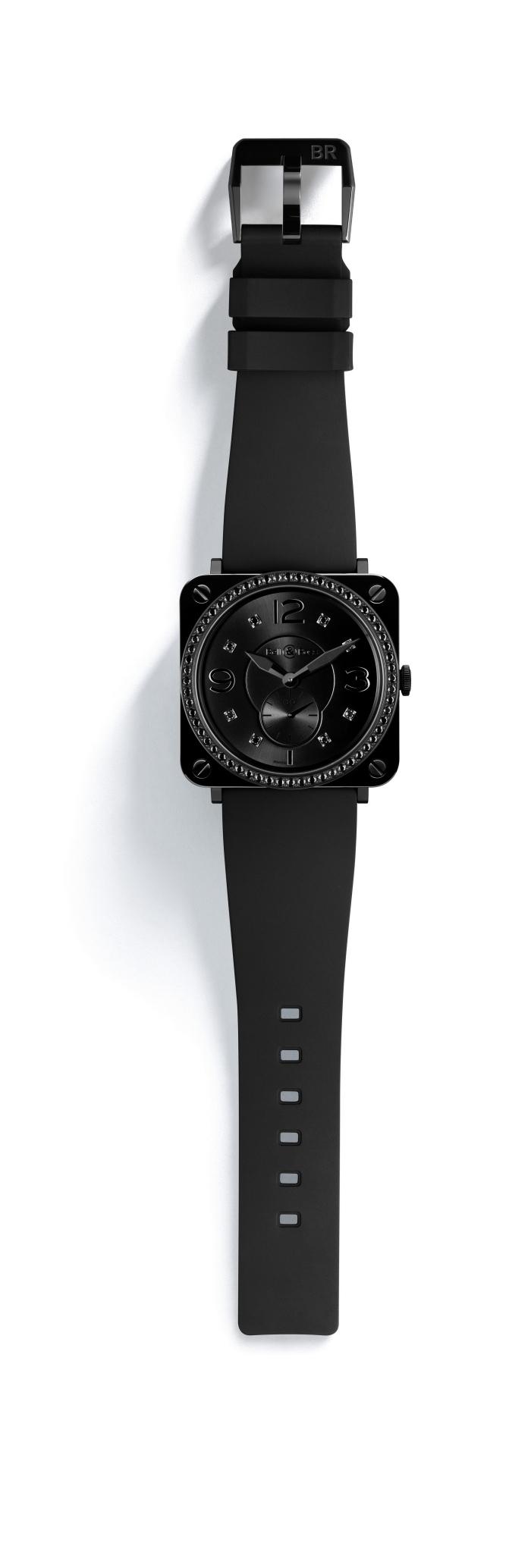 Ультрасовременные, стильные и элегантные женские часы серии INSTRUMENT BR-S от компании Bell & Ross