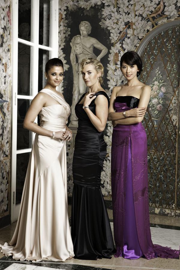Kate Winslet, Aishwarya Rai Bachchan, Chi Ling Lin, Longines Ambassadors of Elegance Longines DolceVita in Rome