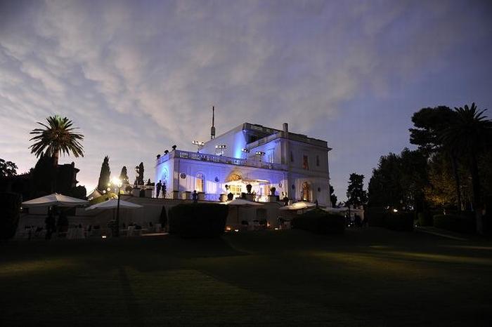 На гала-ужине, прошедшем в удивительных декорациях Вилла Миани, расположенной на холмах, окружающих Рим