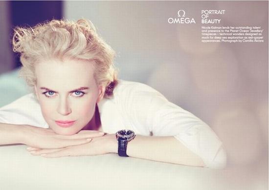 Николь Кидман в рекламе Omega