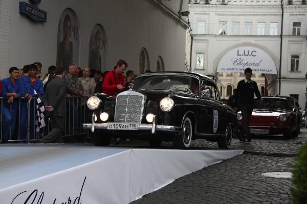 ежегодное ралли старинных автомобилей L.U.C Chopard Classic Weekend Rally